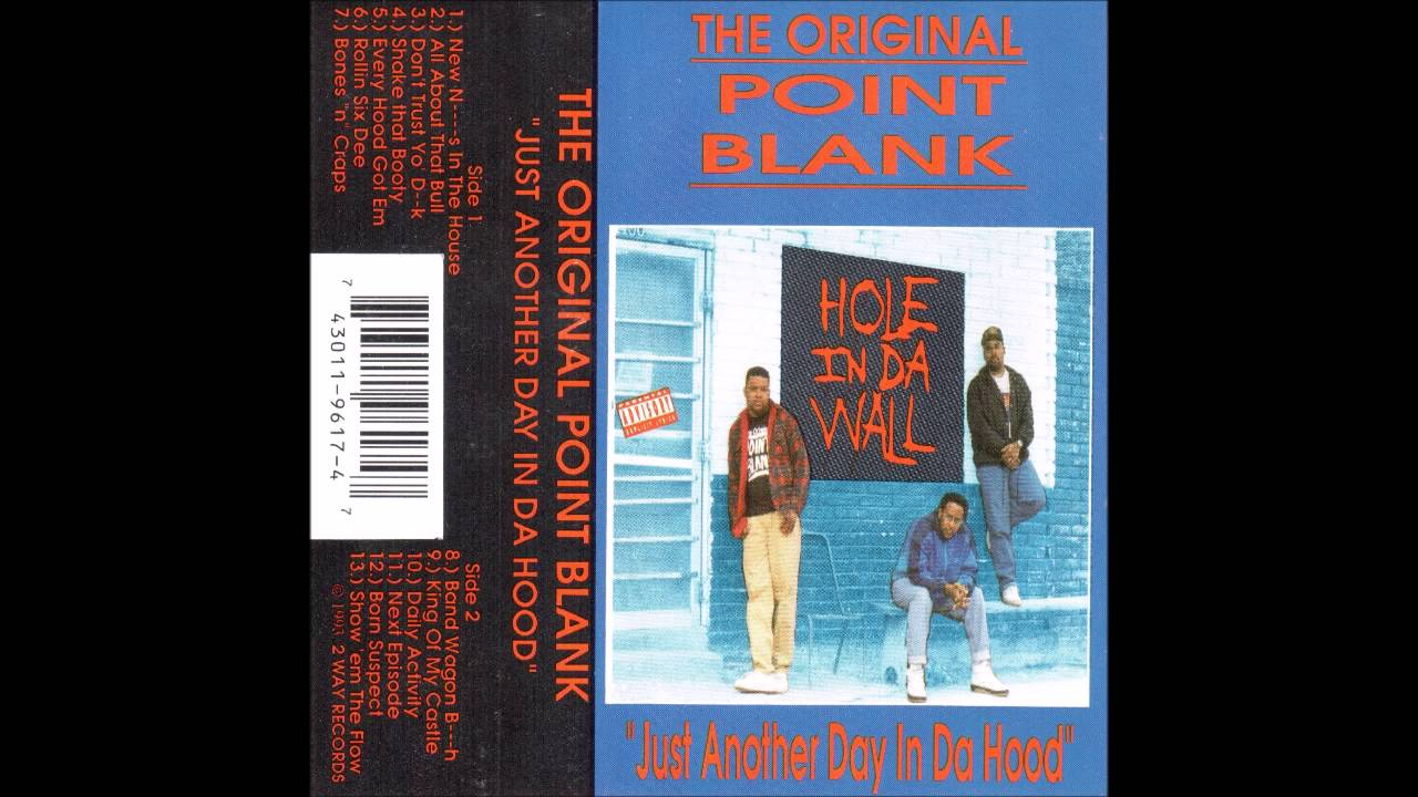 The Original Point Blank - It's All About That Bull (1993)