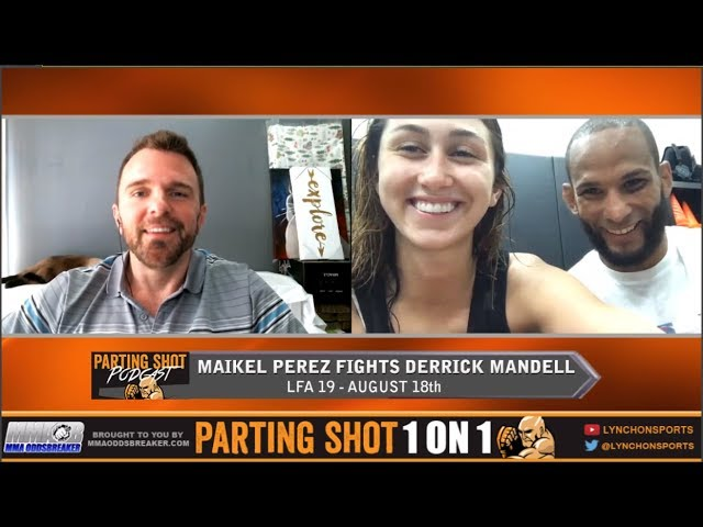 LFA 19's Maikel Perez talks Derrick Mandell fight, drop to 125 pounds & training at Kings MMA