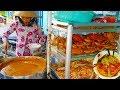 Bất ngờ tô bánh canh nguyên con cua chỉ 70k chị gái bán (7 ngày 7 món ) trong hẻm ở Sài Gòn
