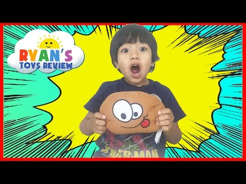 FAMILY FUN TOYS FOR KIDS Hot Potato Game Egg Surprise Toy Car Tomica Ryan ToysReview