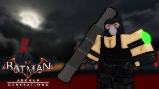 Roblox | Batman Arkham Generations Gameplay (no commentary)