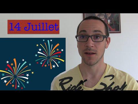 Le 14 juillet, fête nationale française (apprendre le français)
