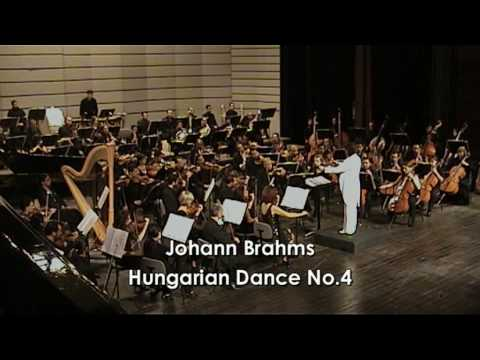 Brahms' Hungarian Dance No.4, Cairo Opera Orchestra