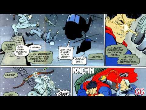 The Dark Knight Returns - Batman vs. Superman (From the Comics) HD