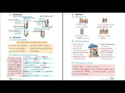 /Bài giảng Sách Bài tập/ Tiếng Anh 3 Unit 11 – Trang 46+47