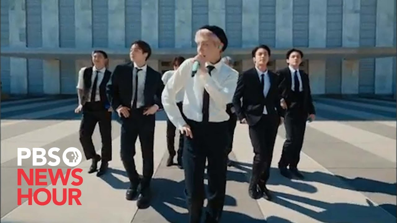Download WATCH: BTS performs 'Permission to Dance' at 2021 United Nations General Assembly
