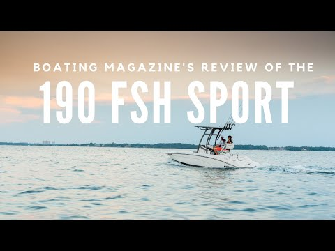 Boating Magazine Buyer's Guide Review of the 2019 Yamaha 190 FSH Sport