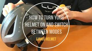How to Turn On Your Helmet and Switch Between Modes
