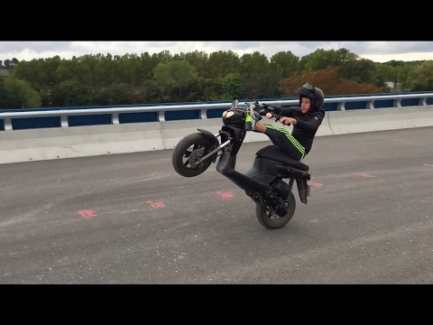 Wheeling, Frottage de bavette, Mbk Stunt 2016 !