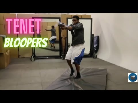 tenet : bloopers and behind the scenes