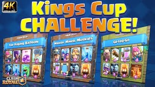 Clash Royale - *KING'S CUP CHALLENGE!* Raging balloon SUCKS!?