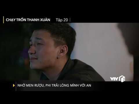 VTV Giải Trí | Chạy trốn thanh xuân tập 20| Nhờ men rượu, Phi trải lòng mình với An