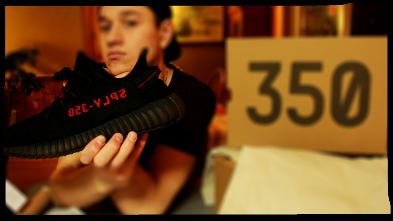 02da485eca5c8 YEEZY BOOST 350 V2 BRED - UNBOXING   ON FEET - HOW DO THEY FIT  - MY FIRST  COP!