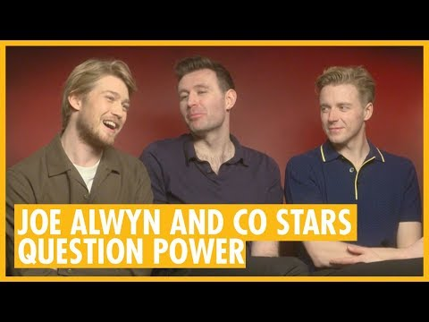 Joe Alwyn, James McArdle And Jack Lowden Interview - Mary Queen Of Scots