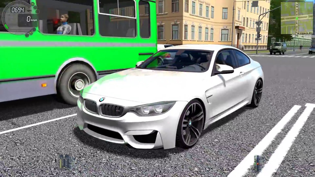city car driving 1.5.3 bmw m4 f82 - youtube