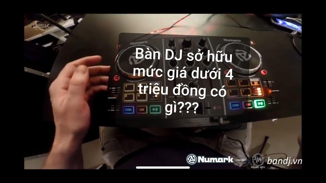 Mở hộp bàn DJ Numark Party Mix sở hữu mức giá dưới 4 triệu đồng