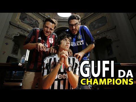 JUVE REAL MADRID - GUFI DA CHAMPIONS