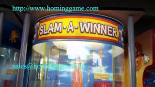 slam a winner redemption game machine/FEC Ticket Redemption game machine Hot!!(sales@hominggame.com)