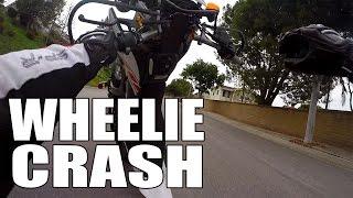 Wheelie Crash - Yamaha WR250X Loop Crew