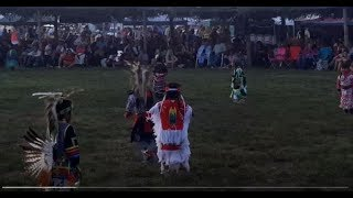 TAOS PUEBLO POW WOW 2019 DAY 2  EVENING - Tiny Tots  at it again