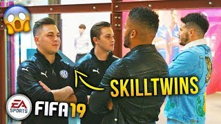 F2FREESTYLERS VS SKILLTWINS FACE OFF | FIFA 19 OFFICIAL LAUNCH