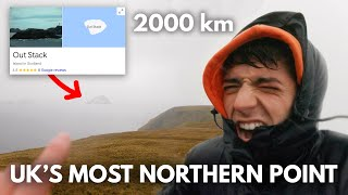 I Travelled 2000km to the UK's Most Northern Point...