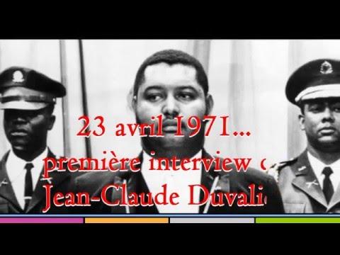 Haiti-1971, la toute première interview de Baby Doc à France Inter