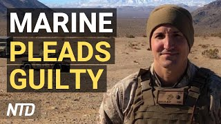 Marine Who Criticized Afghanistan Withdrawal Pleads Guilty; FDA Panel Backs Moderna Boosters   NTD