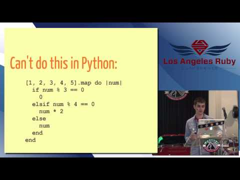 LA Ruby Conference 2013 Python for Ruby Programmers by Mike Leone