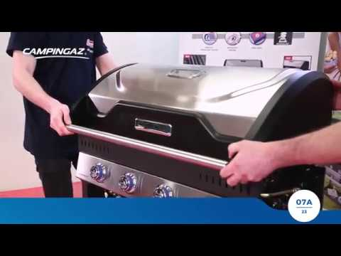 CAMPINGAZ® GAS BARBECUE: MASTER SERIES BARBECUE ASSEMBLY