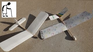 Cardboard Glider - Real Time Build - Long Video