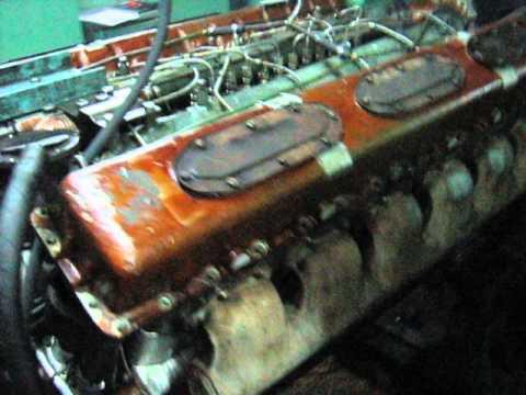 ЗАВЕЛИ и НАГРУЗИЛИ ТАНКОВЫЙ ДИЗЕЛЬ В-46-4 (TANK diesel V-46-6 START UP!!!)