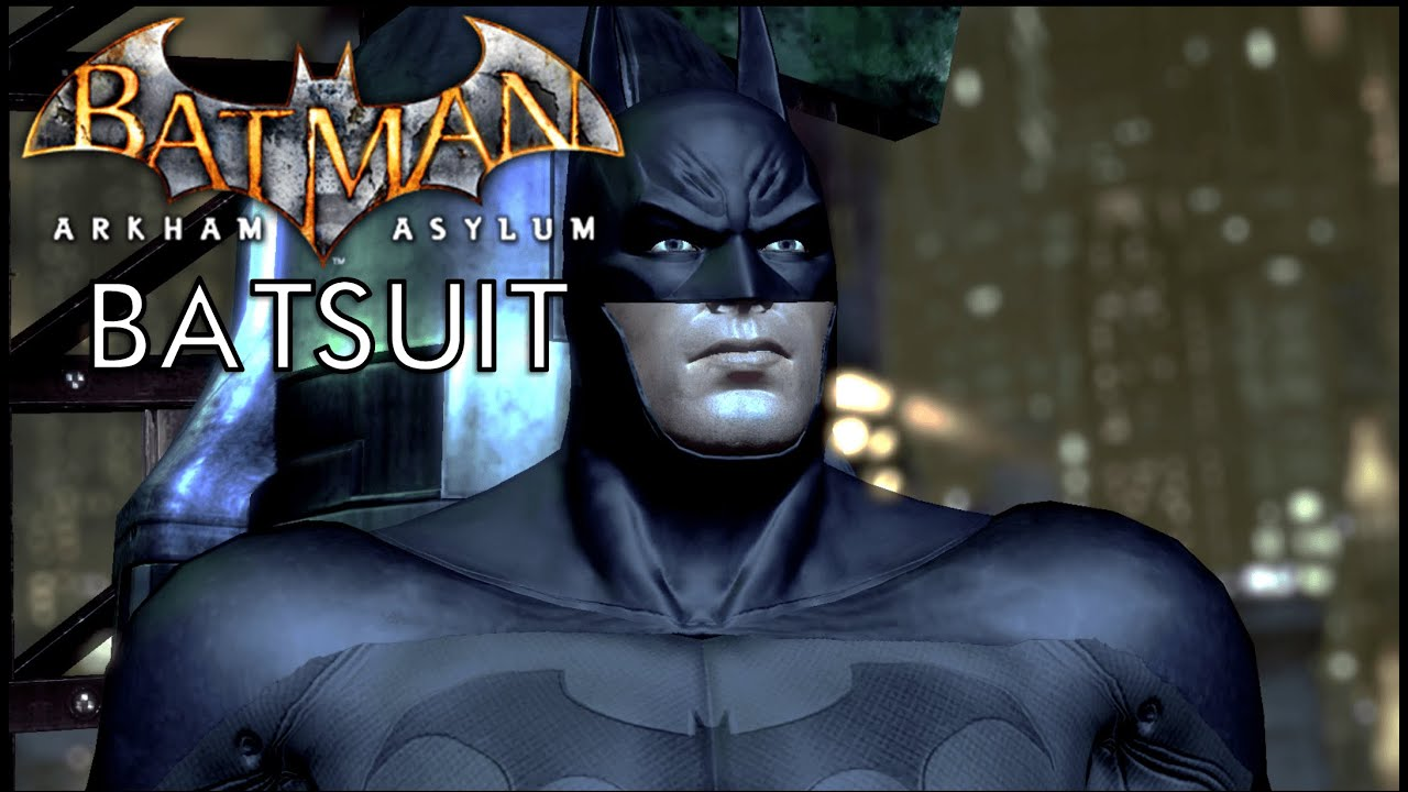 batman arkham city arkham asylum batsuit youtube