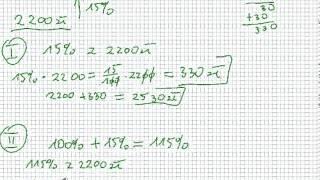 Procenty - podwyżki i obniżki o ileś tam procent - Matematyka Szkoła Podstawowa i Gimnazjum