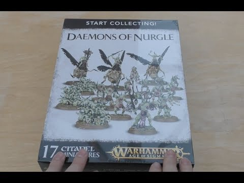 Daemons of Nurgle - Start Collecting - Unboxing (AoS & WH40K)