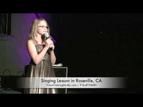 Singing, Voice Lessons Sacramento Elk Grove CA