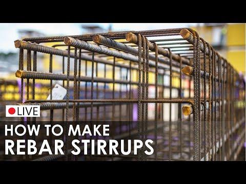Reinforcement / Rebar Stirrups I Bending & Making I Handmade Steel Reinforcement Stirrups