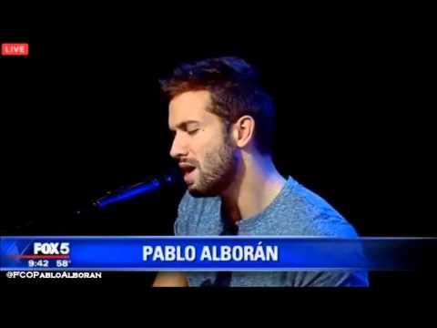 """Pablo Alborán en """"Good Day New York"""" de Fox 5"""
