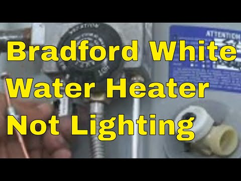 Bradford White Water Heater In Attic Why? 👍👍👍