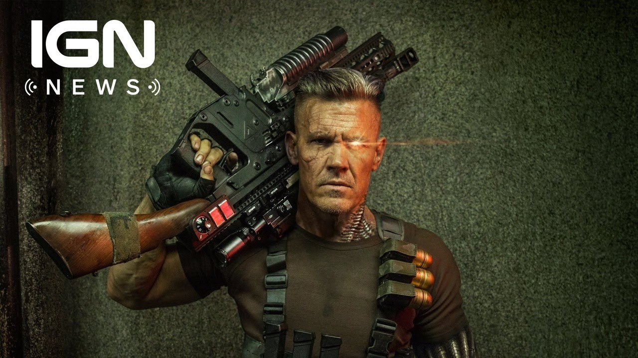 Josh Brolin's Cable: A Close-Up Look At Deadpool 2's New Hero