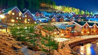 Буковель  bukovel(Горнолыжный курорт Буковель. Отличный зимний отдых в Карпатах. Композиция