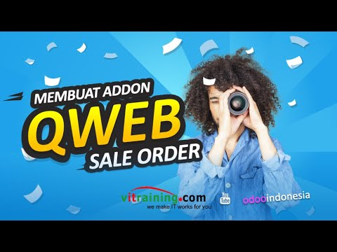 Odoo Developer Indonesia - Odoo QWEB Training - YouTube