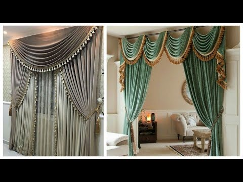 Stylish And classic Chiffon Curtains Designs