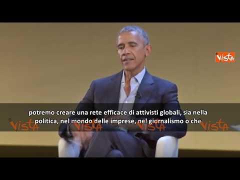 """Il progetto di Obama e Renzi: """"Io e Matteo insieme"""""""