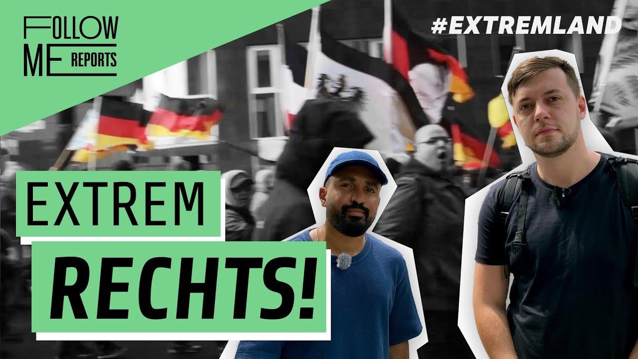 Unter Neonazis: Als Journalist auf Volkslehrer-Kundgebung