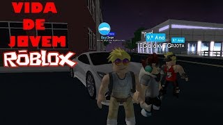 ROBLOX-I went to live with my cousin RJ? (YOUNG LIFE) #1