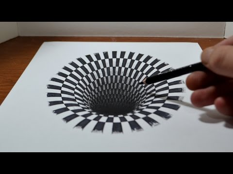 drawing-a-hole---anamorphic-illusion