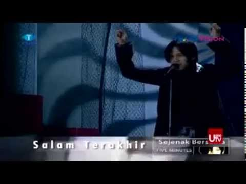 Five Minutes - Salam Terakhir @Sejenak Bersama Five Minutes. 2002