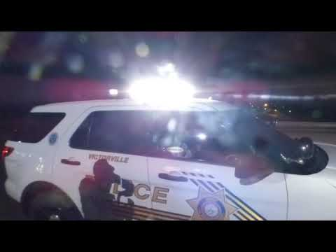 PHOTOGRAPHERS MAKE SHERIFF OBEY THE LAW, Victorville Police Department,  1st amendment audit