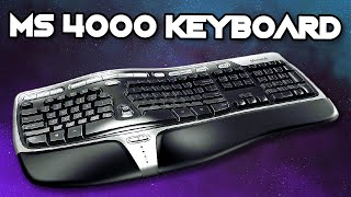 Microsoft Natural Ergonomic 4000 Keyboard - Unboxing and Review